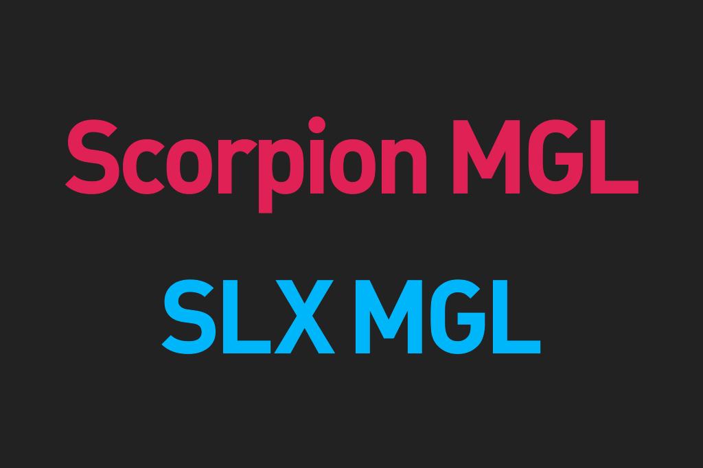 19スコーピオン MGL・19SLX MGL