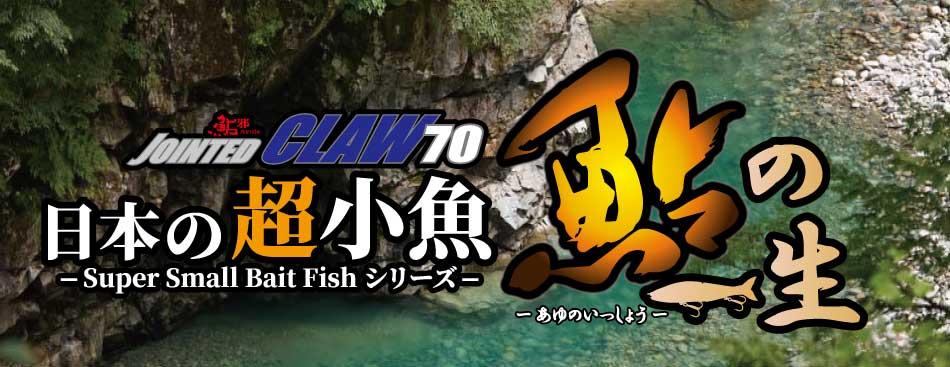 日本の超小魚・鮎の一生